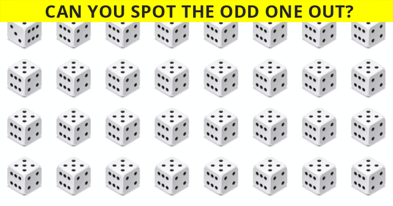 Only 1 In 50 People Can Achieve 100% In This Odd One Out Test. Are You Up To The Task?
