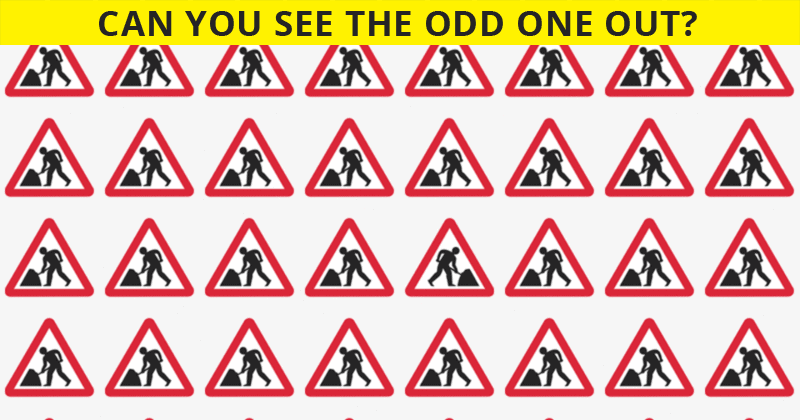 Tough Visual Quiz: Can You Spot The Odd One Out Within 7 Seconds?