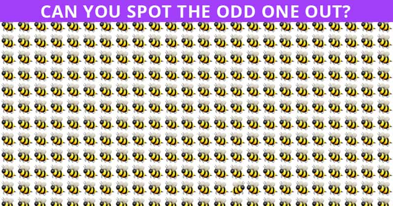 Only 1 In 35 People Can Achieve 100% In This Odd One Out Visual Game. Are You Up To The Challenge?