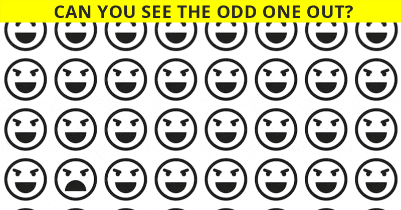 Only 1 In 50 People Can Ace This Odd Ones Out Test. Are You Up To The Task?