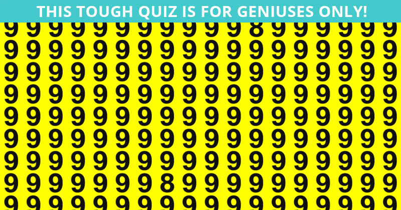 Only 1 In 30 Sharp-Eyed People Can Achieve 100% In This Multiple Odd Ones Out Test. Are You Up To The Task?