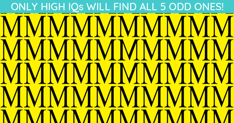 Only 1 In 30 Sharp-Eyed People Can Achieve 100% In This Challenging Multiple Odd Ones Out Test. How About You?