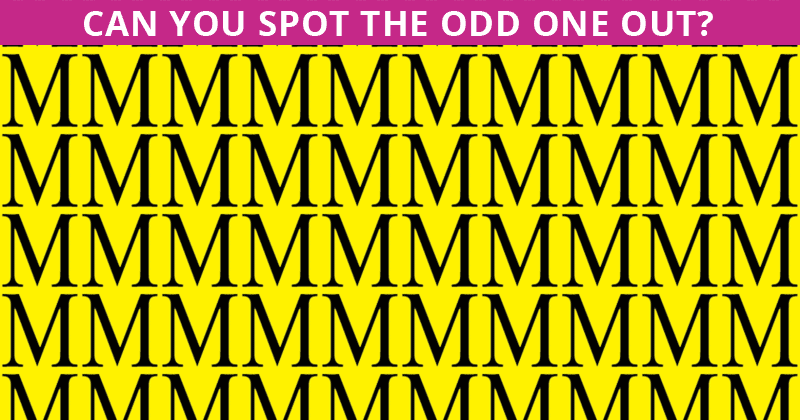 Only 4% Of People Can Beat This Odd One Out Visual Game. Are You Up To The Challenge?