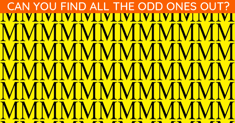 Only 1 In 30 Sharp-Eyed People Can Ace This Challenging Multiple Odd Ones Out Test. How About You?