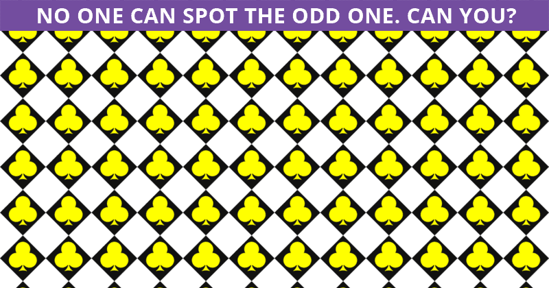 We Gave This Odd One Out Visual Test To 100 High School Students And No One Got All Correct. Can You Beat Them?