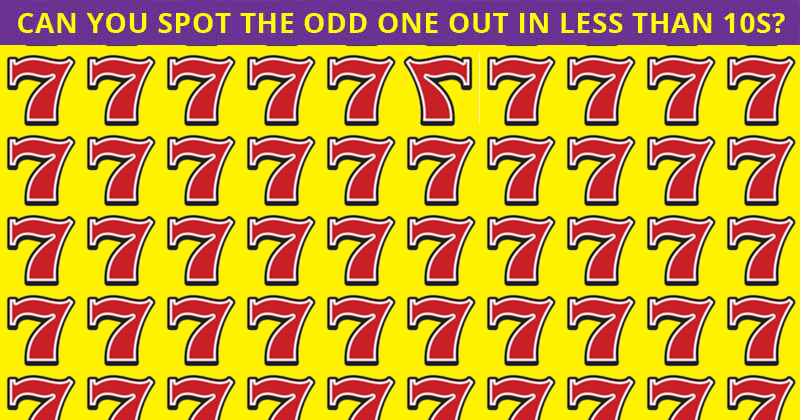 This Odd One Out Visual Quiz Will Determine Your Visual Perception In About One Minute