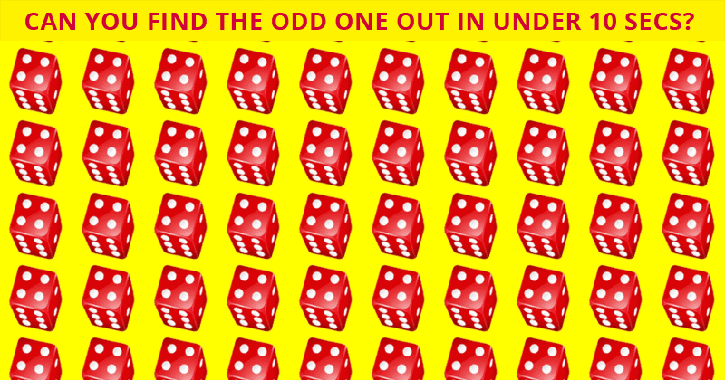 Only 1 In 30 Sharp-Eyed People Can Beat This Difficult Odd One Out Puzzle. How About You?