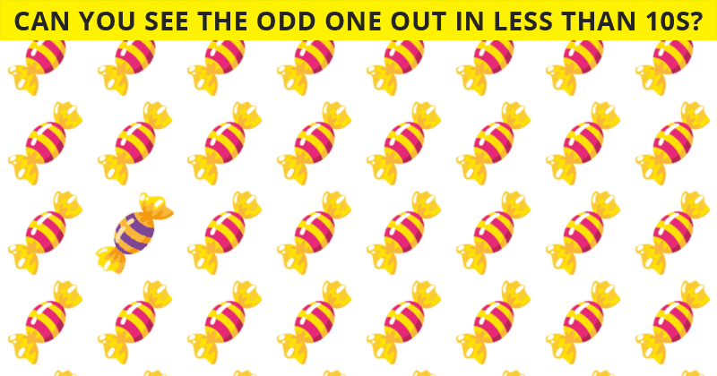 Beating This Difficult Odd One Out Visual Game Is Impossible. Prove Us Wrong