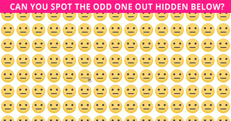 Only 1 In 30 Sharp-Eyed People Can Ace This Odd Ones Out Visual Test. Are You Up To The Task?